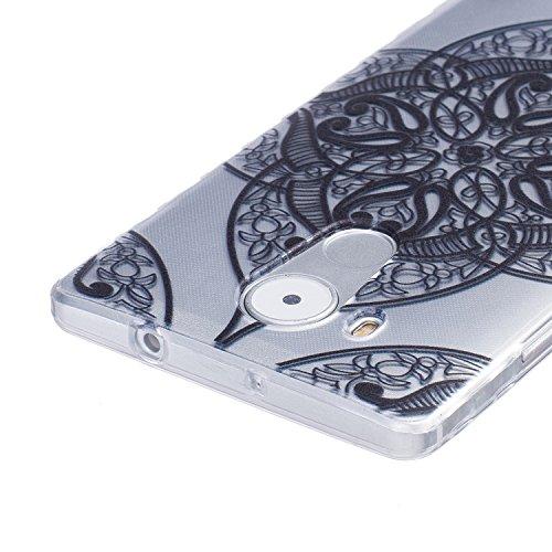 BONROY® Coque pour Apple iPhone 7 plus,Housse en cuir pour Apple iPhone 7 plus,imprimé étui en cuir PU Cuir Flip Magnétique Portefeuille Etui Housse de Protection Coque Étui Case Cover avec Stand Supp sourire