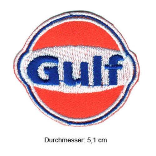 Gulf Racing Team USA Nascar IndyCar Dragster Daytona GT Serie Formel 1F1Racing Race Jacke T Shirt Polo Patch Nähen Eisen auf bestickt - Formel-serie