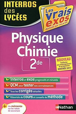 Livre Physique Chimie - Interros des Lycées Physique - Chimie