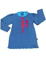 Rockabye-Unisex Baby Tie Dress Long Sleeve Dress (Blue/Purple)