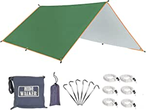 Zeltplane Tarp  3x3M  Campingteppich  Camping  Tragbare  Vorzelt