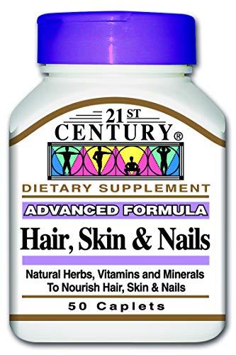 21st Century Health Care, Haar, Haut und Nägel, Fortschrittliche Formel - x50Caps -