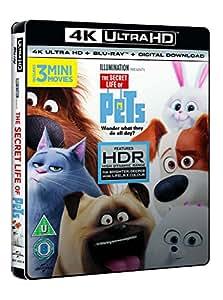The Secret Life of Pets (4K UHD Blu-ray + Blu-ray + Digital Download) [2015]