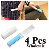 4 Pcs Compact and Foldable Sticky Lint R...