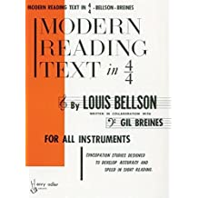 Modern Reading Text in 4/4
