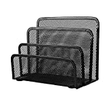 #5: Abaj New Practical Mesh Metal Letter Sorter Mail Document File Tray Desk Office File Organizer Storage Holder