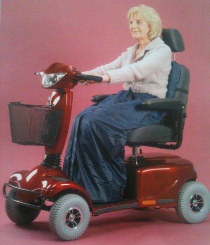 la pierna manta acogedora impermeable para vehículo para personas con movilidad reducida