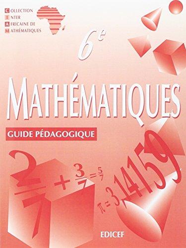 Mathématiques; 6e S guide pédagogique