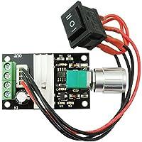 Pixnor 6V 12V 24V 28V 3A 80W DC Motor Speed Controller (PWM) velocità regolabile reversibile 1203BB dc motor driver Switch inversione