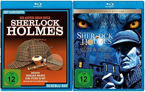 Sherlock Holmes - Die große Blu-ray Collection (10 Filme + TV Serie auf 2 Blu-rays)