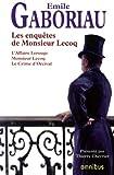 Les Enquêtes de Monsieur Lecoq