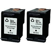 DOREE 901 XL 901XL Compatible cartuchosdetinta para impresora HP Officejet 4500 G510a 4500 G510g 4500 G510n J4500 J4524 (1 Negro + 1 Color)