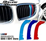 Rolling Gears E90 M-Colour Kidney Grill Stripe Cover 2009-12, 5-Layer Painted