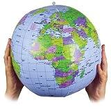 Aufblasbare Explosions WORLD GLOBE ATLAS WELTKARTE EARTH BILDUNGS