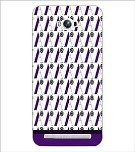 PrintDhaba Flower Pattern D-1815 Back Case Cover for ASUS ZENFONE MAX ZC550KL (Multi-Coloured)
