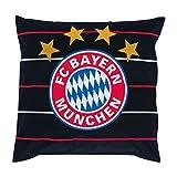 FC Bayern München Kissen FCB + Gratis Aufkleber, Pillow, almohada, oreiller