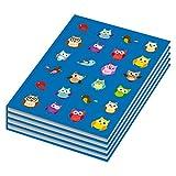 4er Pack Notizbuch / Kladde blanko