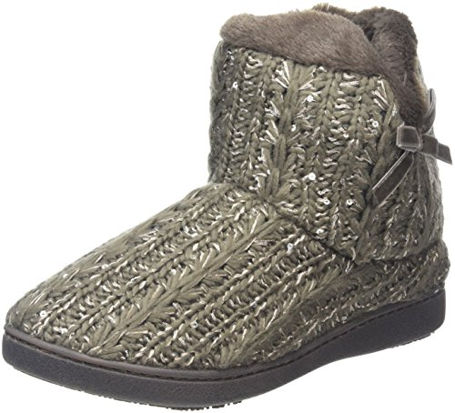 isotoner-women-sparkle-knit-pillowstep-bootie-low-top-slippers-brown-mink-4-uk-37-eu