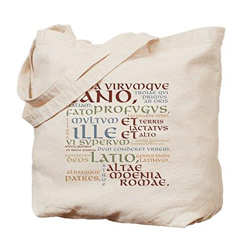Bag Cafe Tote Press (CafePress–Vergil Antiken Farben–natürlicher Canvas Tote Bag, Stoff Einkaufstasche S khaki)