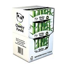 The Cheeky Panda FTF-0700461678632 cosmeticadoekjes, 100% kunststof, bamboe, plat, 12 stuks