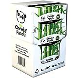 Le Cheeky Panda 100% bambou Facial Tissue Flat Box, Lot de 12, Total 960Mouchoirs