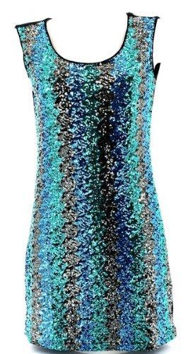 Charleselie94® Damen Kleid Grün - Grün