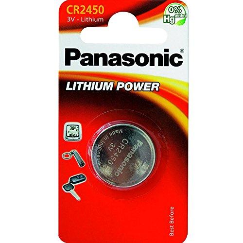 PANASONIC - CR2450 / 5 unidades