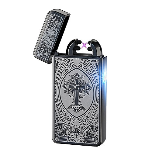 alxcio-usb-rechargeable-double-electronic-pulse-arc-cigarette-lighter-windproof-flameless-no-gas-cig