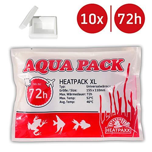Neu HeatPack 72h   Wärmekissen für den Versand von Tieren   Pflanzenversand   15,5 cm x 11 cm (10)