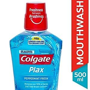 Colgate Plax Pepper Mint Mouthwash - 500 ml