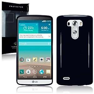 Terrapin TPU Schutzhülle Tasche Case Cover für LG G3 (Schwarz)