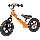 Laufrad Strider – 12 Sport Balance Bike, Alter 18 Monate bis 5 Jahre, Custom KTM STRIDER Orange bei Amazon