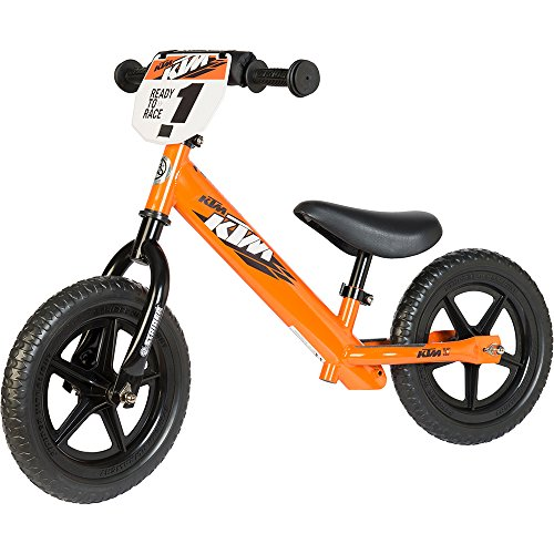 Strider – 12 Sport Balance Bike, Alter 18 Monate bis 5 Jahre, Custom KTM STRIDER Orange