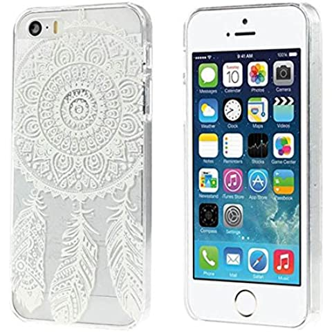 Malloom® Sognare Copertura Collettore Modello Trasparente Duro Per Il Iphone 5 5s