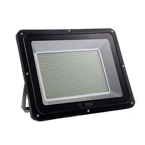 Faro Led Faretto Freddo, Faretto Per Giardino Esterno, Lampada Potente Super Luminosa, 500W, IP65 Impermeabile, 6000K, 18000 Lumen, 1200 LED, Custodia Integrata in Alluminio Pressofuso