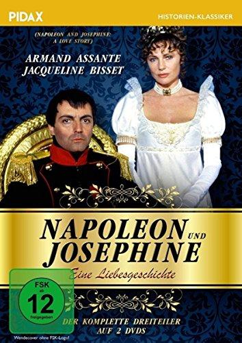 Napoleon und Josephine - Eine Liebesgeschichte/Der komplette Dreiteiler mit Armand Assante & Jacqueline Bisset (Pidax Historien-Klassiker) [2 DVDs]