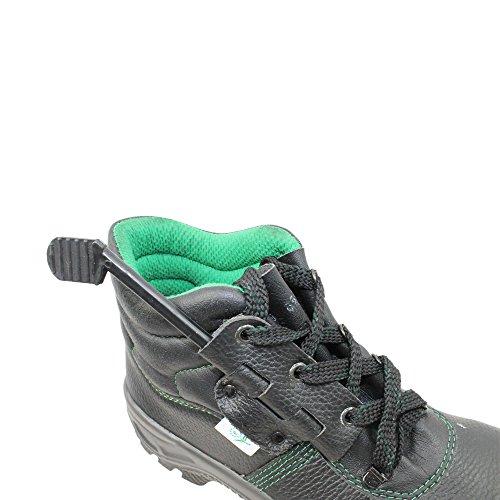 TPS T1500 S1P Sicherheitsschuhe Arbeitsschuhe Berufsschuhe Businessschuhe Trekkingschuhe hoch Grün Grün