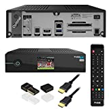 Protek 4K UHD E2 Linux HDTV Receiver mit Sat Tuner + Mini WiFi WLAN Dongle USB 2.0
