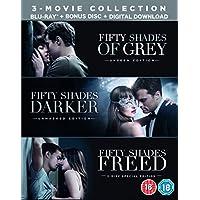 Fifty Shades Freed 3-Movie Boxset