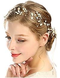 Accessoires Cheveux de Mariage Mariée Pearl Bandeaux Imitation Pearl  Accessoires