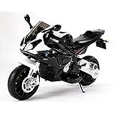 Motocicleta Eléctrica BMW S 1000 RR, Vehículo Alimentado por Batería, Autorizado, Ruedas Suaves de EVA, Marco de Metal, Motor 2 x, Batería de 12V