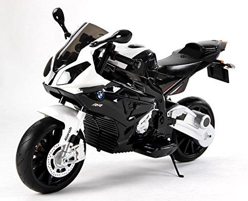 #Kinder-Elektro Motorrad BMW S 1000 RR Swarz mit Reifen aus EVA#