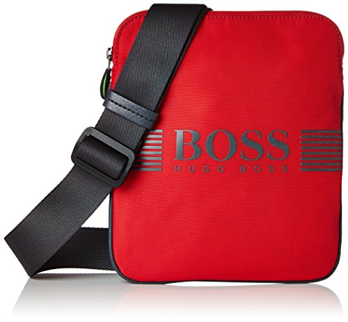 BOSS Green Herren Pixel_s Zip Env 10180620 01 Schultertasche, Rot (Bright Red), One Size