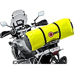 Equipaje enrollable QBag, impermeable 07 hasta 60 litros, neón amarillo