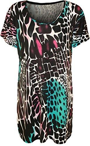 Funky Fashion Shop Damen Rock Neon Print