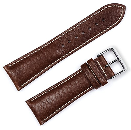 sport-bracelet-en-cuir-marron-19mm-montre-bandepar-debeer