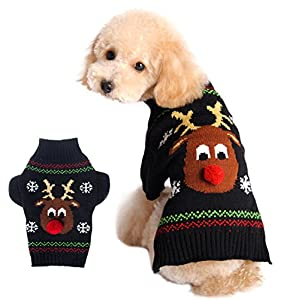 Xiaoyu-Dog-Sweater-Pet-Clothes-for-Dogs-Christmas-Reindeer