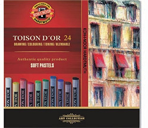 koh-i-noor-toison-dor-8514-artists-soft-pastels-pack-of-24