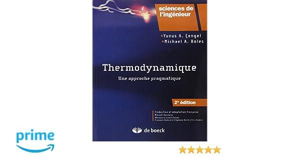 thermodynamique une approche pragmatique gratuit