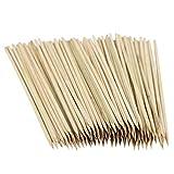 Pasamer 100 Pezzi USA e Getta di bambù all'aperto Picnic Barbecue BBQ Grigliare la Forcella Sticks spiedini Set